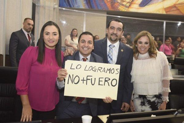 Se eliminan el fuero y privilegios para funcionarios en sonora: Diputados del PRI