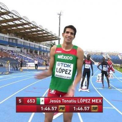 Tonatiú López digno heredero de la velocidad sonorense en las pistas