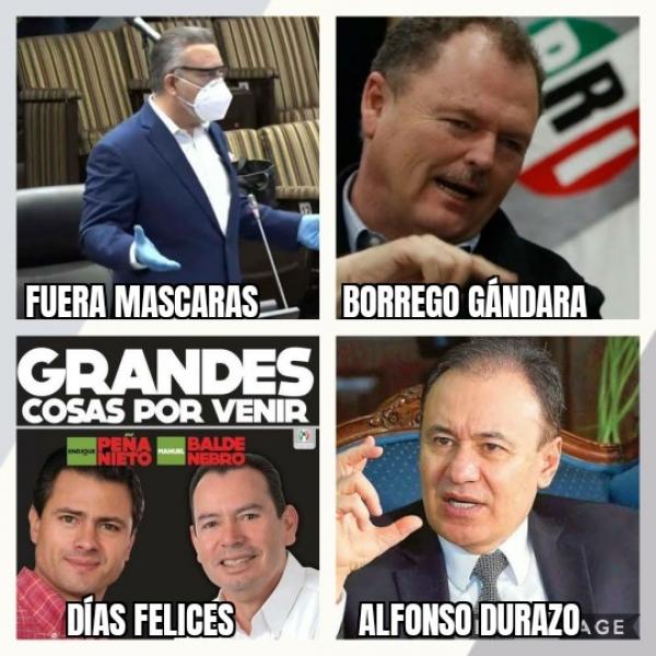 TOQUE DE QUEDA...... +Coquetea El Mataperros con El Borrego..... +Cumplen con PAN y PRD, para armar la alianza...... + Arriba Alfonso Durazo a Sonora; filtran reunión interna.....